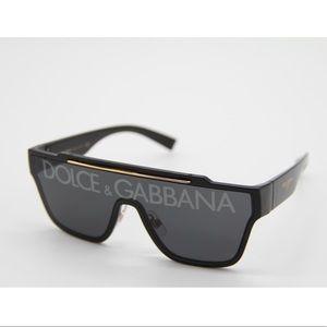 New Dolce&Gabbana DG6125 Black Unisex Sunglasses